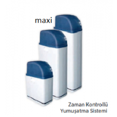 Maxi Kabinetli Zaman Kontrollü, 25 L Reçine, Su Yumuşatma Sistemi