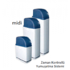 Mini Kabinetli Zaman Kontrollü 20L Yumuşatma Sistemi
