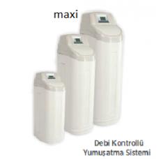 Maxi Kabinetli Debi Kontrollü, 25 L Reçine, Su Yumuşatma Sistemi